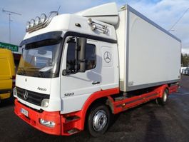closed box truck > 7.5 t Mercedes Benz Atego 1223 4x2 4760 2006