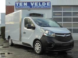 refrigerated closed box lcv Opel Vivaro Carrier Xarios 200 -20 2015