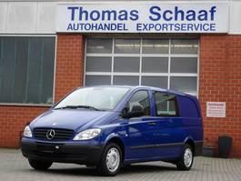 samochód dostawczy do przewozu wózków inwalidzkich Mercedes Benz Vito 111 CDI Selbstfahrend für Rollstuhlfahrer Euro 4 2009