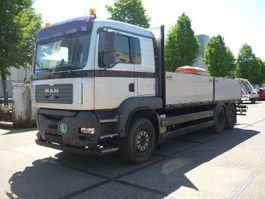 platform truck MAN TGA 26.430 6x2 open box 2006