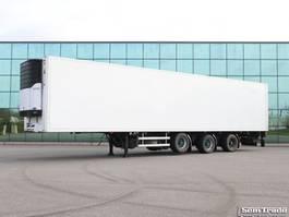 refrigerated semi trailer Burg 3-AS KOEL VRIES 2x STUURAS 3 TONS KLEP LIFTAS 2007