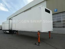Kühlauflieger Krone Zentralachs/Motorwagen/Tiefkühlaufbau 2014