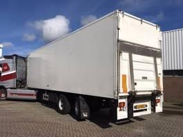 closed box semi trailer Pacton PACTON CITY - STANG GESTUURD - LAADKLEP - APK !!!!! 2007