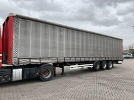 sliding curtain semi trailer Van Hool 3B2014 / 3as BPW Trommel / Kooiaap / 2x Liftas / APK 14-02-2021!! 2008