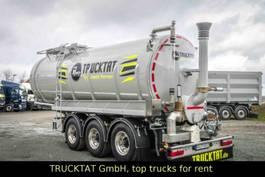 tank semi trailer semi trailer Kaessbohrer V2A Edelstahl Gülle 30 m³, Leer nur 6 t.,MIETEN? 2020