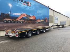 flatbed semi trailer Faymonville MAXtrailer MAX210-Z-3AA-13.50-17.5-2.54 MEGA (2 x uitschuifbaar) 2020