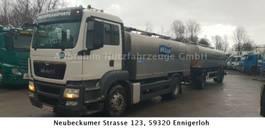 Tankwagen MAN 18.440 Komplettzug Milchtransporter