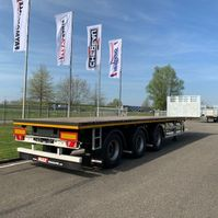 flatbed semi trailer Faymonville MAXtrailer MAX210-Z-3AA-13.60-22.5-2.54 (2 x uitschuifbaar) 2021