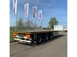 flatbed semi trailer Faymonville MAXtrailer MAX210-Z-3AA-13.60-22.5-2.54 (2 x uitschuifbaar) 2020