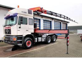 crane truck MAN 26.414 DFLT 6x4 SZM + Kran PK 54.000 Palfinger 1999