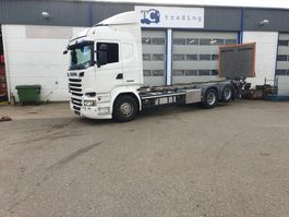 автошасси изменяемой конфигурации Scania R 520 6x2 BDF chassis cabine 2016