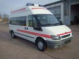 taxi bus Ford Transit 2.0 FT 300 Lang Rettungswagen So. KFZ 2001