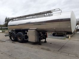 tank semi trailer semi trailer Magyar CITERNE EN INOX ISOTHERME 25000 L- 2 COMPARTIMENTS 2006