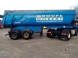 tipper semi trailer Schmitz Cargobull tipper chassis in steel/tipper in steel 2 axles 2008
