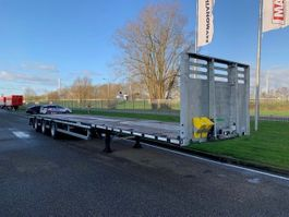 flatbed semi trailer Faymonville MAXtrailer MAX210-Z-3A-13.50-17.5-2.54 MEGA (1 x uitschuifbaar) 2020