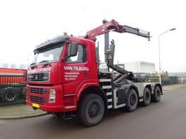 container truck Terberg FM 1950-HT + HAAK + PALFINGER CRANE !! 2003