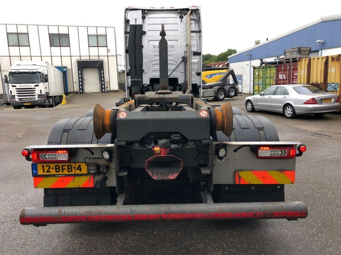 container truck Volvo FH 540 haakarm 6x2 2014