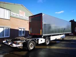 closed box semi trailer Tracon TB1218 | LZV OPLEGGER 2011
