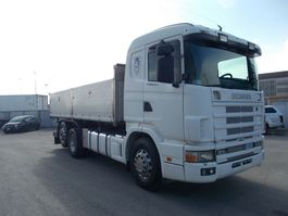 camion a cassone ribaltabile > 7.5 t Scania R 124 LB 6X2 4 NA 470 2002