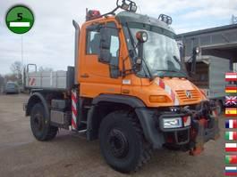 drop side truck Unimog U 400 405/12 Vario Pilot EURO 5 Klima SFZ 2011