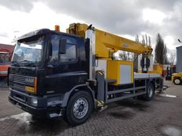 mounted boom lift truck DAF AE65NC 1995