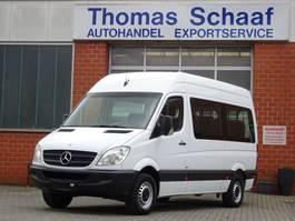 samochód dostawczy do przewozu wózków inwalidzkich Mercedes Benz Sprinter 313 Cdi Blue Efficiency 1+8 Sitze Klima Euro 5 2013