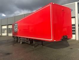 closed box semi trailer Pacton Boxtrailer / 3-Assige / Stuur-as / Laadklep / APK-TUV 2005