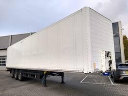 closed box semi trailer Schmitz Cargobull Boxtrailer / 3 Axle / SAF / APK-TUV 2010