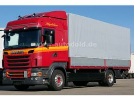 tilt truck Scania R 440 Pritsche Plane Highline Retarder Euro 5 2010