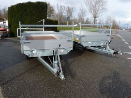 drop side car trailer Eduard P4 plateauwagen demo 2016
