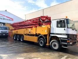 concrete pump truck Mercedes-Benz Actros 4148 Concrete pump 52.16 h 2004
