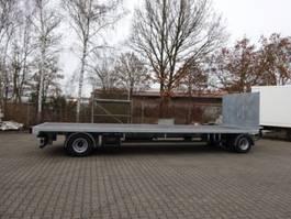 Plattform Anhanger Möslein T 2 Plato 7,60 m  2 Achs Jumbo- Plato- Anhänger 2020