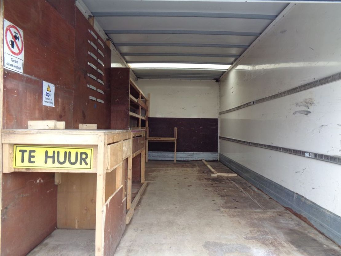 closed box truck > 7.5 t MAN TGL 8.180 + Manual + EURO 5 + Lift 2009