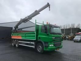 crane truck DAF CF 85 - 410 6 X 4 2010