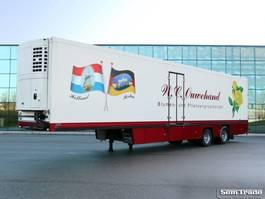 refrigerated semi trailer Floor THEO MULDER BLOEMEN VERKOOP 2-AS STUURAS KOELING KACHEL KLEP 2004