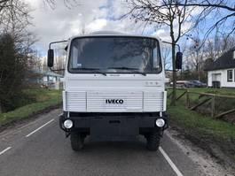 platform truck Iveco 110-17 4x4 open bak 1982