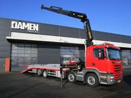 crane truck Scania G 360 8x2 Euro 6 2014
