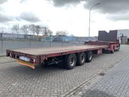 semi lowloader semi trailer Groenewegen DZO 12-24 Semi low loader 3-axle Steel Springs