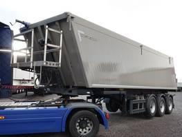 tipper semi trailer Meiller MHKA 44/3 39 m³ Alu Hinterkipper 2017