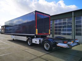 closed box semi trailer Tracon TB1218 | LZV OPLEGGER 2011