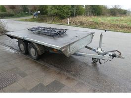 flatbed car trailer Bij Eemsned Eemsned een Anssems platte wagen 1990