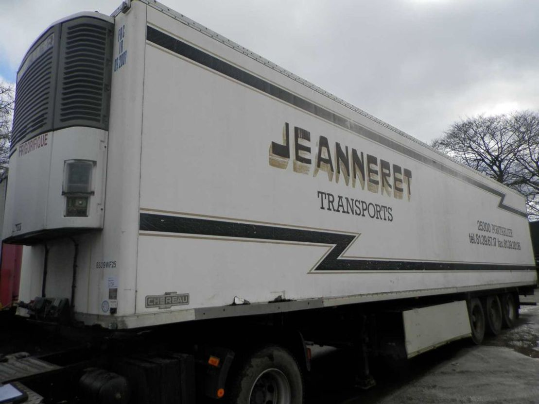 refrigerated semi trailer Trailor 3-assige oplegger 1995