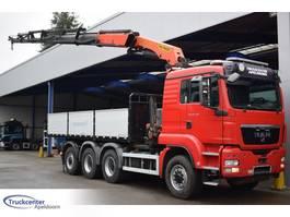 platform truck MAN TGS 35.480 8x6, Palfinger PK 33002 EH, Euro 5, Retarder, Truckcenter Ape... 2011