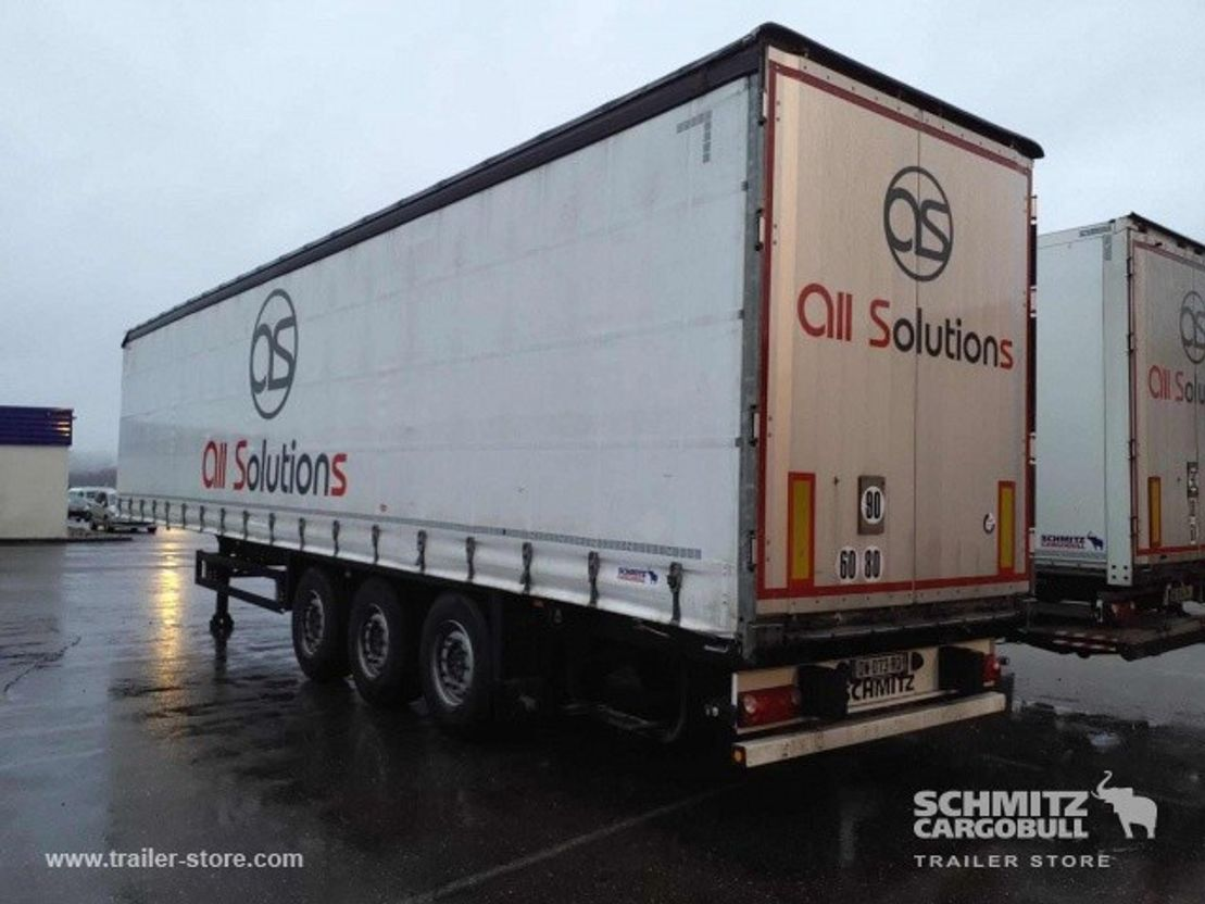 sliding curtain semi trailer Schmitz Cargobull Schuifzeil Standaard 2015