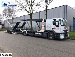 car transporter trailer Lohr Middenas Trucktransport, Multilohr, EURO 5, Retarder, Airco, Combi 2012