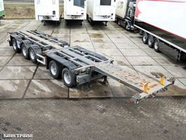 container chassis semi trailer Nooteboom CT-53-05D 2000