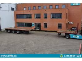 flatbed semi trailer Doll 3-ass. vlakke uitschuifbare oplegger // 3x gestuurd 2007