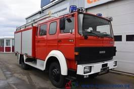 closed box truck > 7.5 t Magirus Deutz 120-23 AW LF16 4x4 V8 Motor nur 10.298 km 1.Hand 1989
