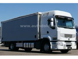 tilt truck Renault Premium 430 DXi PritschePlane Retarder LBW Euro5 2010