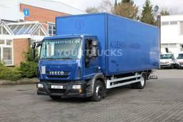 closed box truck > 7.5 t Iveco Eurocargo ML120E22 EEV  Koffer 7,6m/Klima /LBW 2012